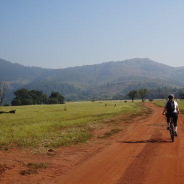 Mountainbiken in Swaziland Johansburg Kaapstad reis
