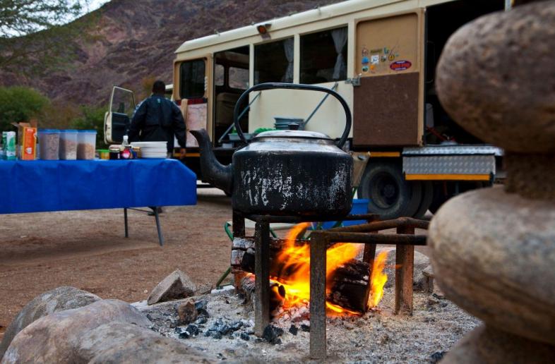 Ai-Ais Hotsprings Spa – Campsite