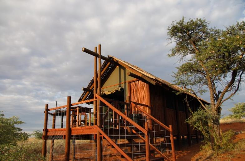 Gharagab Wilderness Camp – Log Cabin